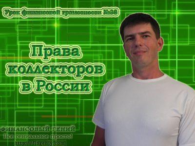 Права коллекторов в России (видео урок)