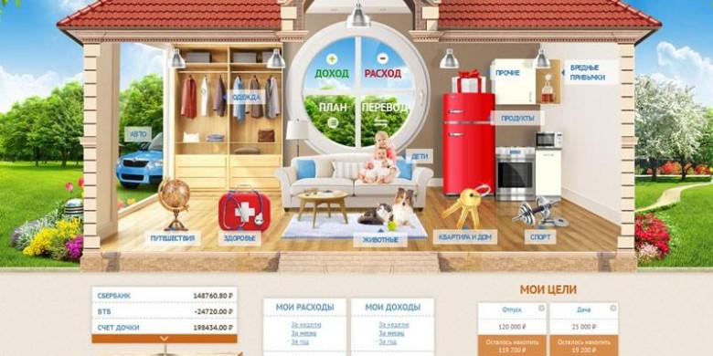Домашняя бухгалтерия: онлайн-сервис Cubux.net