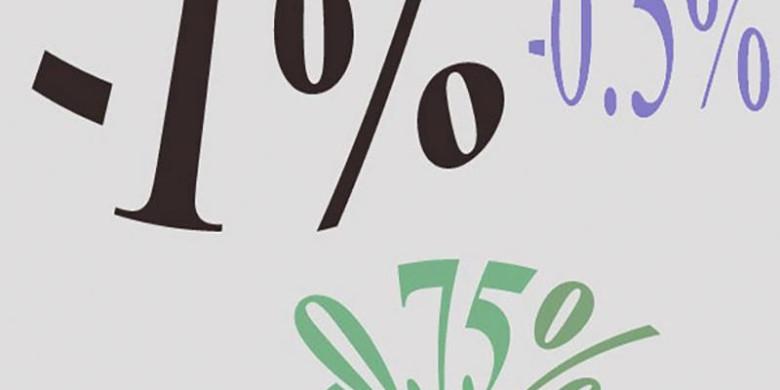 Отрицательный процент по вкладам