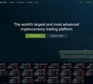 Биржи криптовалют: обзор, рейтинг